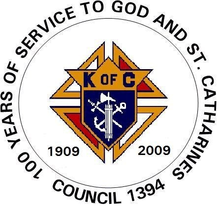Knights of Columbus Council 1394,  St. Catharines, Ontario, Canada