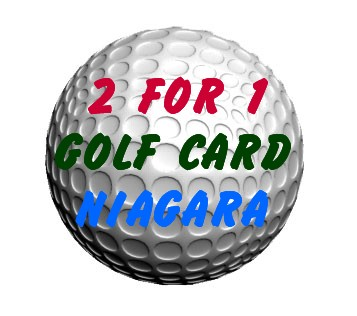 2for1golfcardniagara - Welland Ontario, Canada